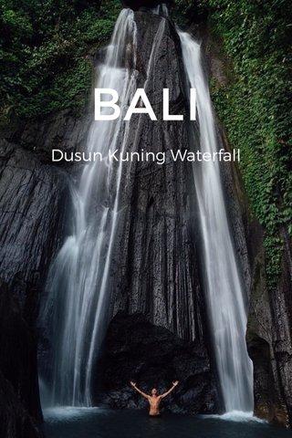BALI Dusun Kuning Waterfall