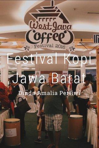 Festival Kopi Jawa Barat Dinda Amalia Pertiwi