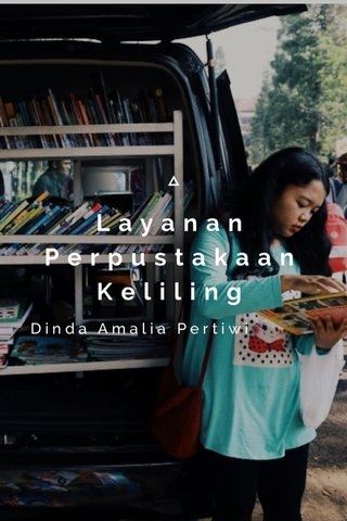 Layanan Perpustakaan Keliling Dinda Amalia Pertiwi