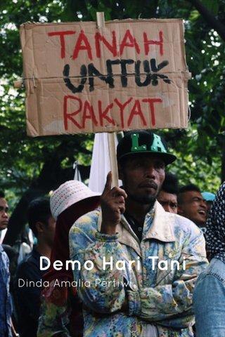 Demo Hari Tani Dinda Amalia Pertiwi