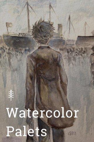 Watercolor Palets Watercolor Palets