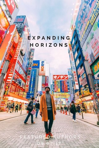 EXPANDING HORIZONS FEATURED AUTHORS 08.07.17