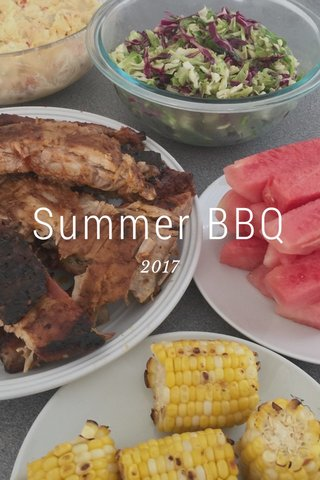 Summer BBQ 2017