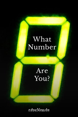 What Number Are You? rAveNswAn
