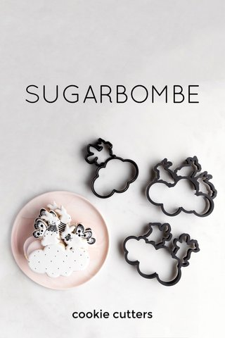 SUGARBOMBE cookie cutters