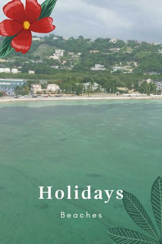 Holidays Beaches