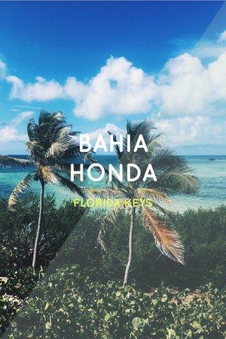 BAHIA HONDA FLORIDA KEYS