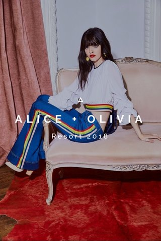 ALICE + OLIVIA Resort 2018