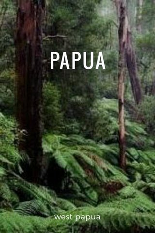 PAPUA west papua