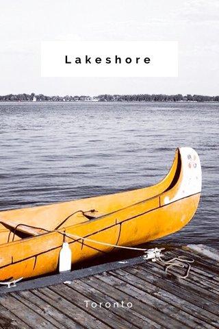 Lakeshore Toronto