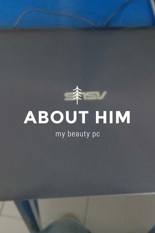 ABOUT HIM my beauty pc