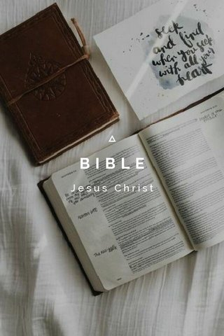 BIBLE Jesus Christ