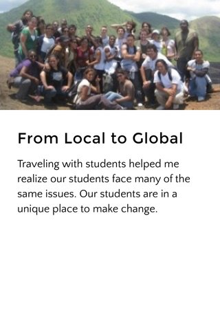 From Local to Global