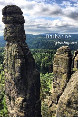 Barbarine @heikojahn