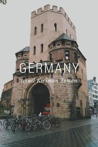 GERMANY secuil Kiriman Teman