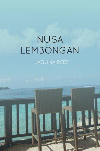 NUSA LEMBONGAN - LAGUNA REEF