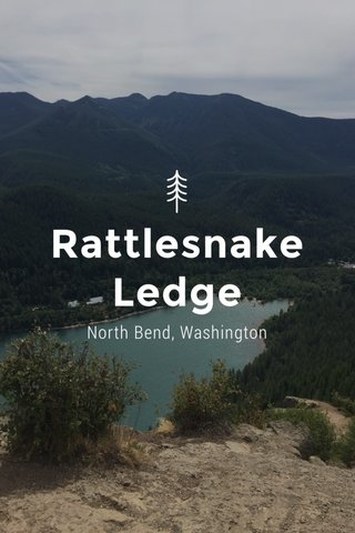 Rattlesnake Ledge North Bend, Washington