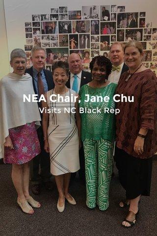 NEA Chair, Jane Chu Visits NC Black Rep