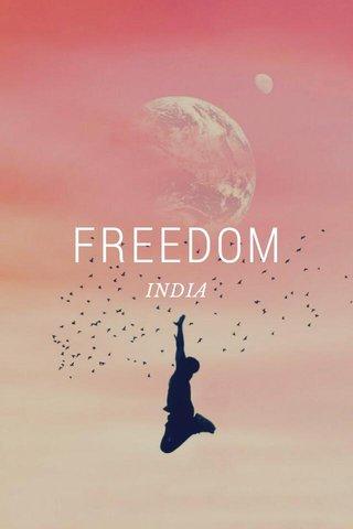 FREEDOM INDIA