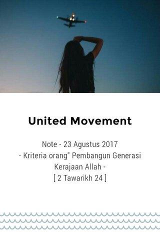 United Movement