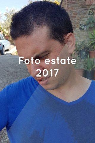 Foto estate 2017