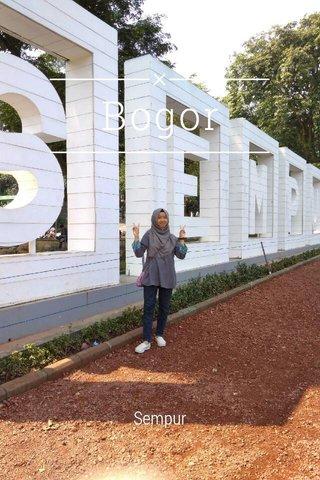 Bogor Sempur