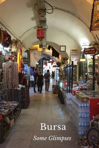 Bursa Some Glimpses