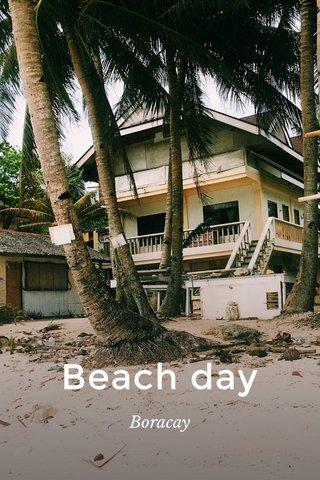 Beach day Boracay