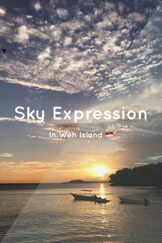 Sky Expression In Weh Island 🇮🇩