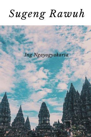 Sugeng Rawuh Ing Ngayogyakarta