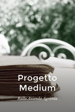 Progetto Medium Rallo Azienda Agricola