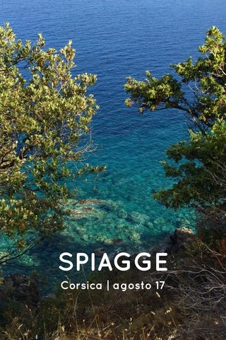 SPIAGGE Corsica | agosto 17
