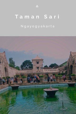 Taman Sari Ngayogyakarta