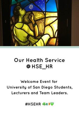 Our Health Service @HSE_HR
