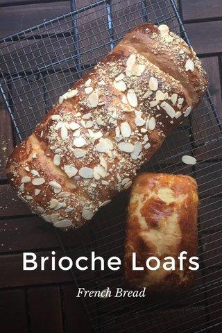 Brioche Loafs French Bread