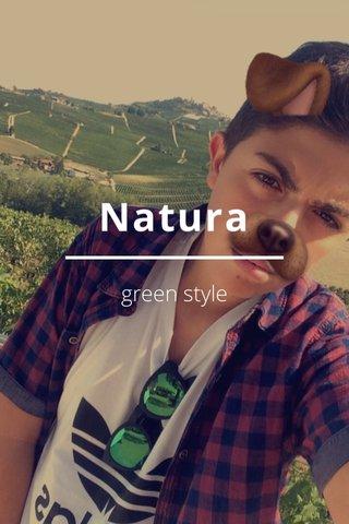 Natura green style