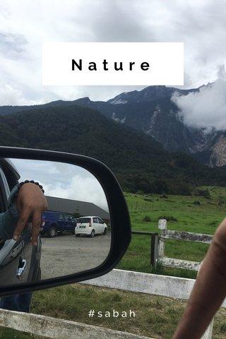 Nature #sabah