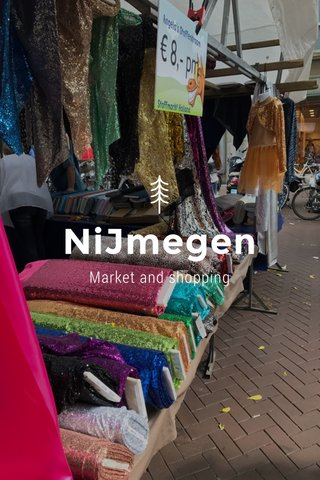 NiJmegen Market and shopping