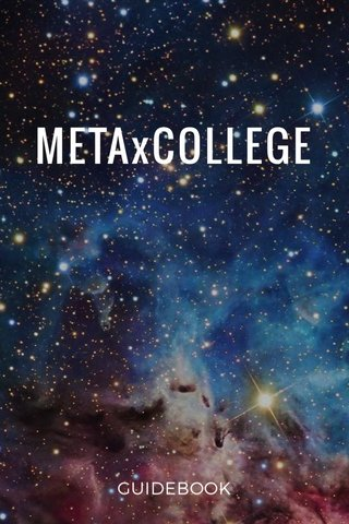 METAxCOLLEGE GUIDEBOOK