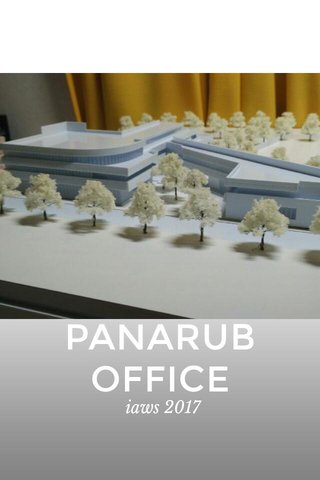 PANARUB OFFICE iaws 2017