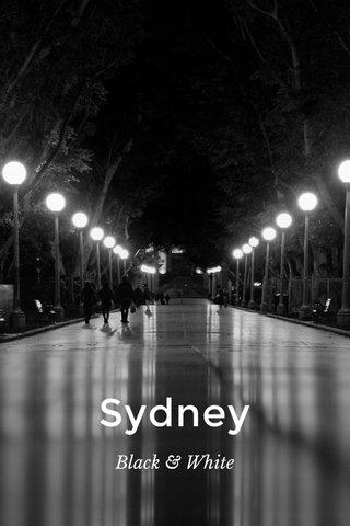 Sydney Black & White