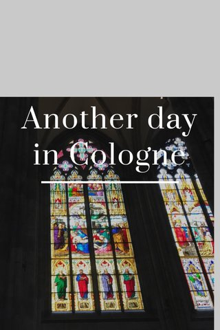 Another day in Cologne