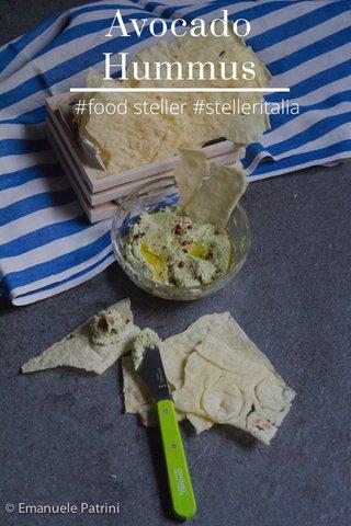 Avocado Hummus #food steller #stelleritalia