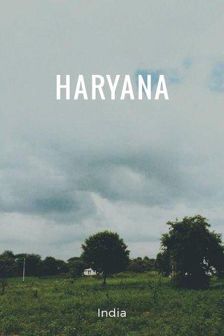 HARYANA India