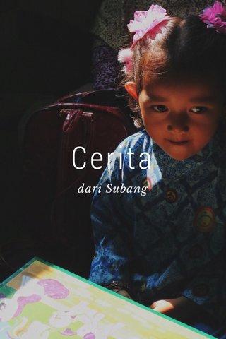 Cerita dari Subang