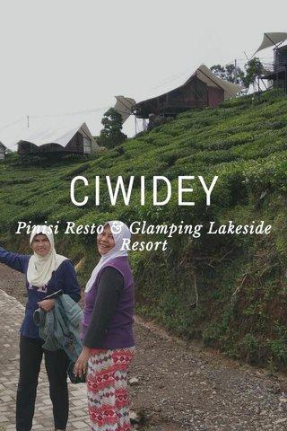CIWIDEY Pinisi Resto & Glamping Lakeside Resort