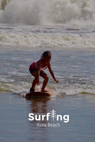 Surf ng Kuta Beach
