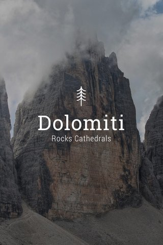 Dolomiti Rocks Cathedrals