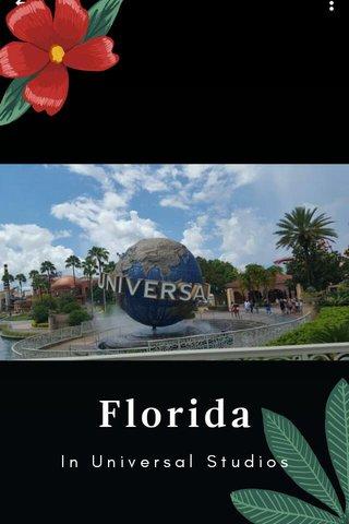 Florida In Universal Studios