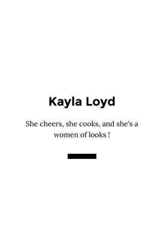 Kayla Loyd